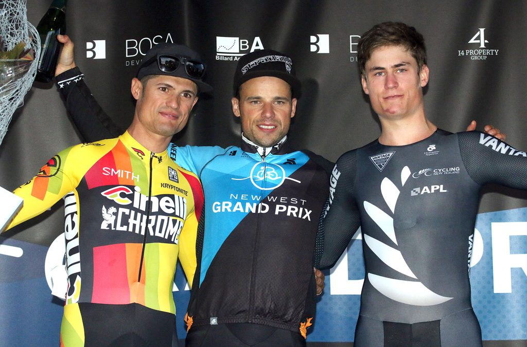Florenz Knauer is a Three Time Champion at New West Grand Prix